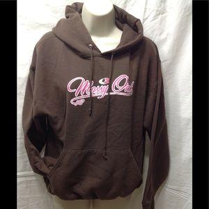 Women's size Medium hoodie w/ Mossy Oak appliqué